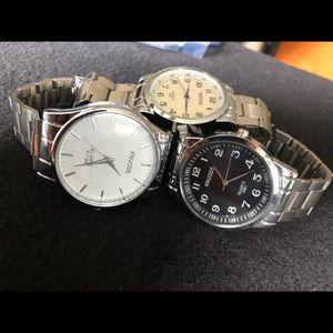 Jewelry - Men's quartz watches.